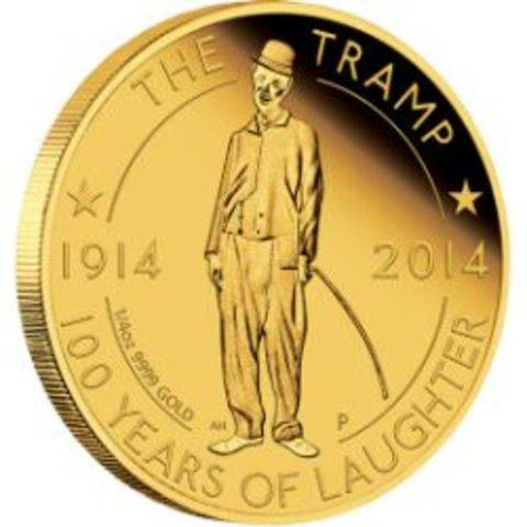 0-the-tramp-100-years-of-laughter-2014-quarter-oz-gold-proof-coin-reverse