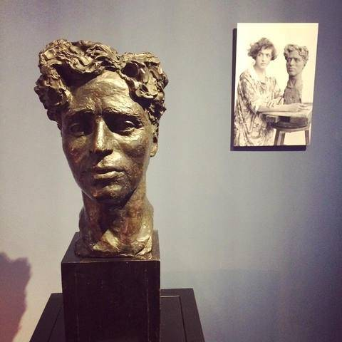 clare sheridan bust  opening of Chaplin s World