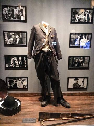 iconic tramp costume  opening of chaplin s world