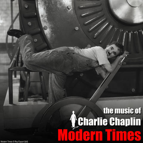 MODERN TIMES Album cover ENGLISH