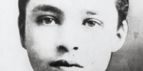 Chaplin aged 9 or 10